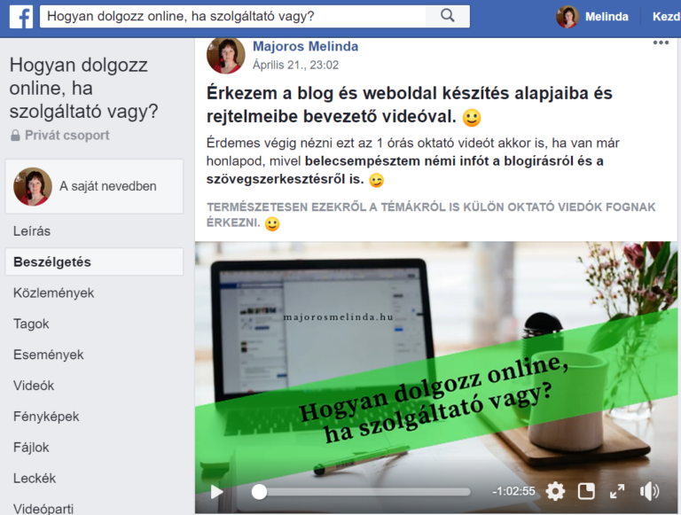 blogkészítés